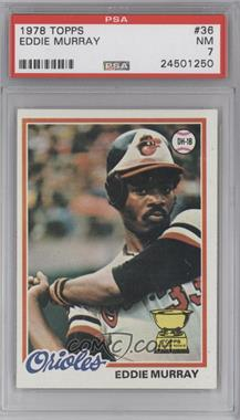 1978 Topps - [Base] #36 - Eddie Murray [PSA 7]