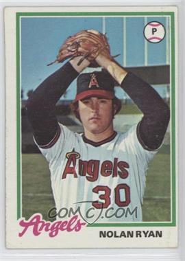 1978 Topps - [Base] #400 - Nolan Ryan