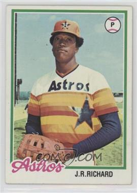 1978 Topps - [Base] #470 - J.R. Richard