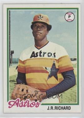 1978 Topps - [Base] #470 - J.R. Richard
