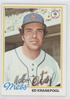 1978 Topps - [Base] #49 - Ed Kranepool