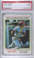 Pete Rose [PSA 9 MINT]