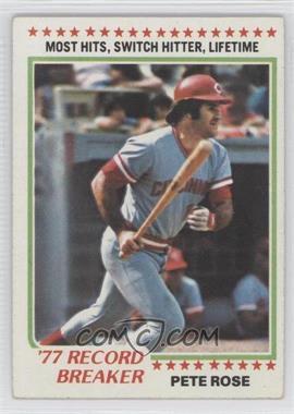1978 Topps - [Base] #5 - Pete Rose