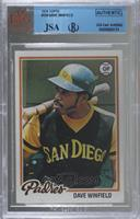 Dave Winfield [BVG Authentic]