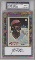 Jim Rice [PSA/DNA Certified Encased]