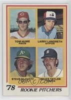 Larry Landreth, Steve McCatty, Bruce Taylor, Tom Hume