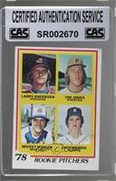 '78 Rookie Pitchers (Larry Andersen, Tim Jones, Mickey Mahler, Jack Morris) [CA…