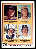 '78 Rookie Pitchers (Larry Andersen, Tim Jones, Mickey Mahler, Jack Morris) [VG]