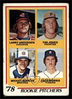 '78 Rookie Pitchers (Larry Andersen, Tim Jones, Mickey Mahler, Jack Morris) [GO…