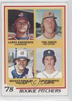 '78 Rookie Pitchers (Larry Andersen, Tim Jones, Mickey Mahler, Jack Morris) [No…