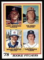 '78 Rookie Pitchers (Larry Andersen, Tim Jones, Mickey Mahler, Jack Morris) [NM…