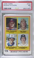 '78 Rookie Pitchers (Larry Andersen, Tim Jones, Mickey Mahler, Jack Morris) [PS…
