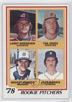 '78 Rookie Pitchers (Larry Andersen, Tim Jones, Mickey Mahler, Jack Morris)
