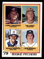 '78 Rookie Pitchers (Larry Andersen, Tim Jones, Mickey Mahler, Jack Morris) [NM]