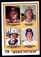 '78 Rookie Pitchers (Larry Andersen, Tim Jones, Mickey Mahler, Jack Morris) [EX]