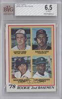 78' Rookie 2nd Basemen (Garth Iorg, Dave Oliver, Sam Perlozzo, Lou Whitaker) [B…