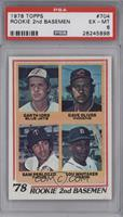 78' Rookie 2nd Basemen (Garth Iorg, Dave Oliver, Sam Perlozzo, Lou Whitaker) [P…