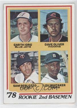 1978 Topps - [Base] #704 - 78' Rookie 2nd Basemen (Garth Iorg, Dave Oliver, Sam Perlozzo, Lou Whitaker)
