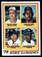 78' Rookie 2nd Basemen (Garth Iorg, Dave Oliver, Sam Perlozzo, Lou Whitaker) [V…