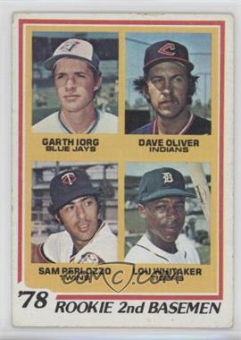 1978 Topps - [Base] #704 - 78' Rookie 2nd Basemen (Garth Iorg, Dave Oliver, Sam Perlozzo, Lou Whitaker) [Good to VG‑EX]