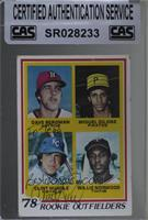 Rookie Outfielders - Dave Bergman, Miguel Dilone, Clint Hurdle, Willie Norwood …