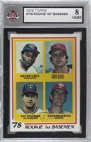 Rookie 1st Basemen (Wayne Cage, Ted Cox, Pat Putnam, Dave Revering) [KSA8…