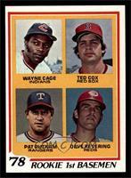 Rookie 1st Basemen (Wayne Cage, Ted Cox, Pat Putnam, Dave Revering) [NMMT]