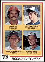 Bo Diaz, Dale Murphy, Lance Parrish, Ernie Whitt [NM MT]