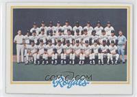 Kansas City Royals (KC Royals) Team [GoodtoVG‑EX]