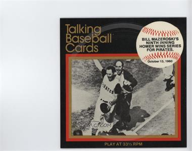 1979 Cmc Great Moments In Baseball Talking Baseball Cards