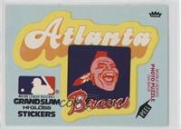 Atlanta Braves (Team Logo Blue)
