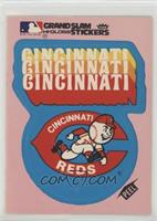 Cincinnati Reds Logo (Pink Background; Team Logo)