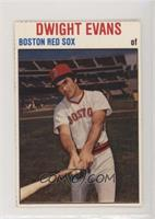 Dwight Evans [Noted]