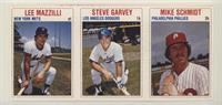 Lee Mazzilli, Steve Garvey, Mike Schmidt
