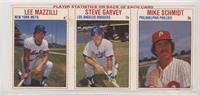 Lee Mazzilli, Steve Garvey, Mike Schmidt [NonePoortoFair]