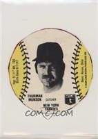 Sports Spectacular Back - Thurman Munson [Good to VG‑EX]