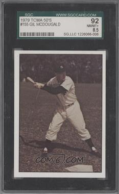 1979 TCMA Baseball History Series the 1950's - [Base] #155 - Gil McDougald [SGC92]