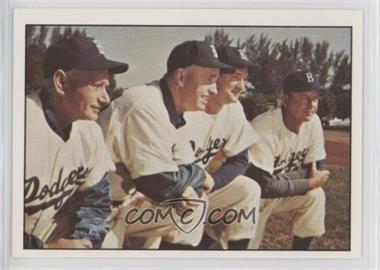1979 TCMA Baseball History Series the 1950's - [Base] #187 - Brooklyn Dodgers Team, Jake Pitler, Joe Becker, Billy Herman, Walt Bagley