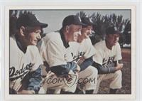 Brooklyn Dodgers Team, Jake Pitler, Joe Becker, Billy Herman, Walt Bagley