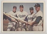 Duke Snider, Roy Campanella, Gil Hodges, Carl Furillo [GoodtoVGR…