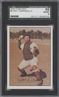 1979 TCMA Baseball History Series the 1950's - [Base] #8 - Roy Campanella [SGC88]