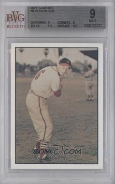 1979 TCMA Baseball History Series the 1950's - [Base] #9 - Stan Musial [BVG 9 MINT]