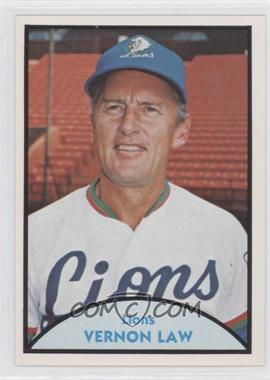 1979 TCMA Japanese Pro Baseball - [Base] #17 - Vernon Law