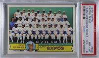 Dick Williams, Montreal Expos Team [PSA8NM‑MT]