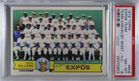 Montreal Expos (Dick Williams) [PSA 8 NM‑MT]