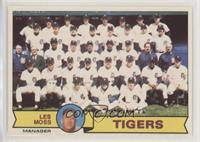 Detroit Tigers (Les Moss)
