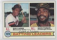 Batting Leaders (Rod Carew, Dave Parker)