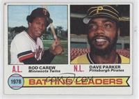 Rod Carew, Dave Parker [GoodtoVG‑EX]