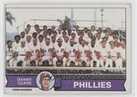 Philadelphia Phillies Team, Danny Ozark [NoneGoodtoVG‑E…