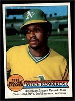 Mike Edwards Baseball Cards
